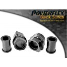 paire Silentbloc Powerflex  BLACK Barre Anti-Roulis Peugeot 206 Diam.22mm