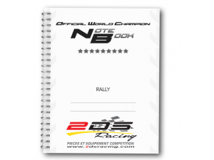 CAHIER DE NOTE  OFFICIAL WORLD CHAMPION