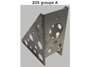 SUPPORT MAITRE CYLINDRE DE FREIN A MAIN 205 GROUPE A